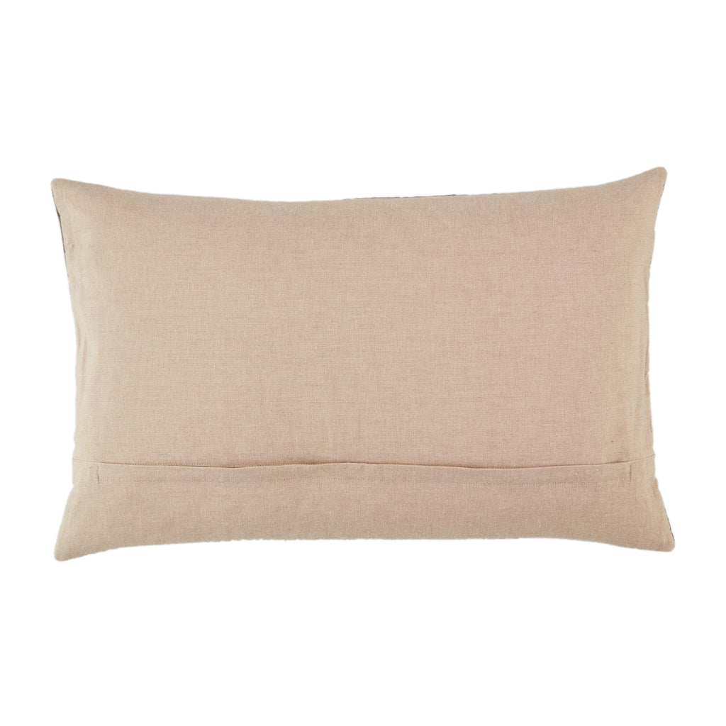 Bourdelle Chevron Pillow in Dark Taupe by Jaipur Living