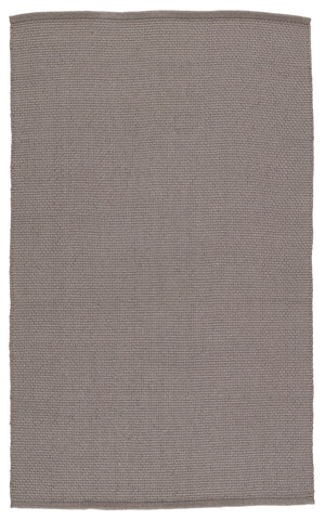 Kawela Indoor/Outdoor Solid Grey Rug by Jaipur Living