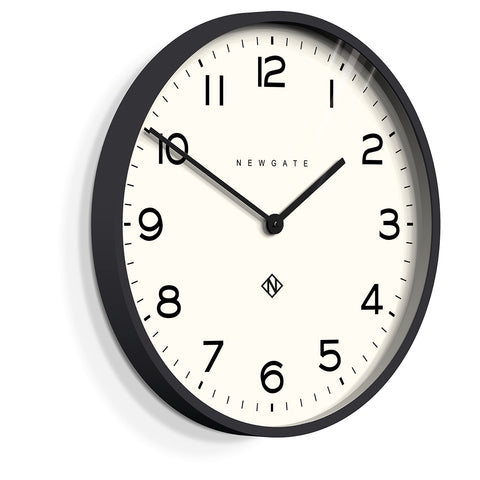 Number One Echo Clock in Black