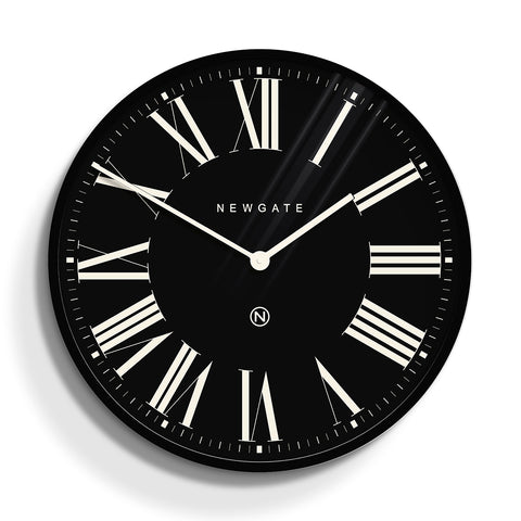 Music Hall Clock In Black