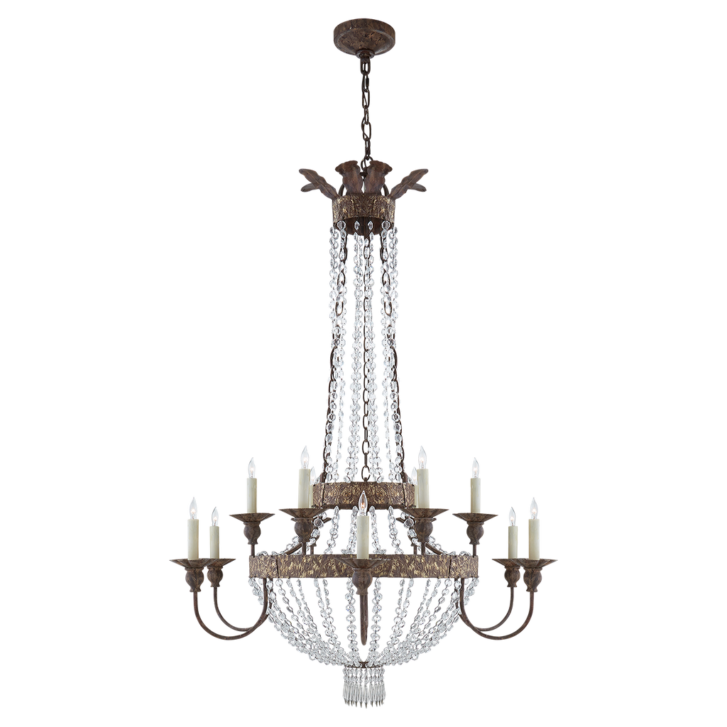 Lyon Large Chandelier by Niermann Weeks