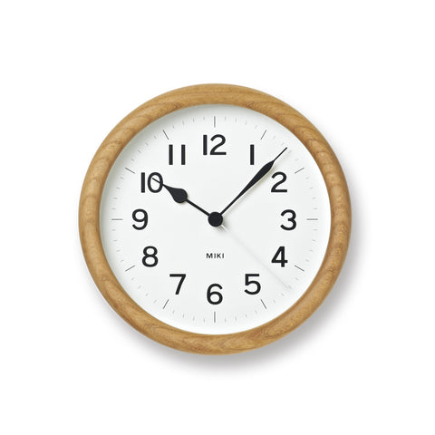 Miki Clock design by Lemnos