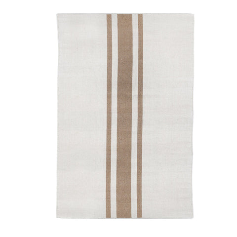 Beachwood Handwoven Rug in Ivory and Natural in multiple sizes