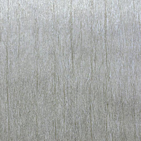 Natural Texture Wallpaper in Silver and Beige by York Wallcoverings