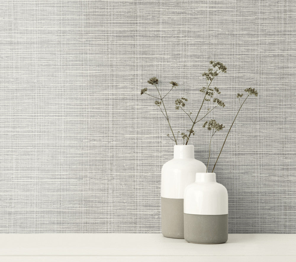 Nautical Twine Wallpaper from the Beach House Collection by Seabrook Wallcoverings