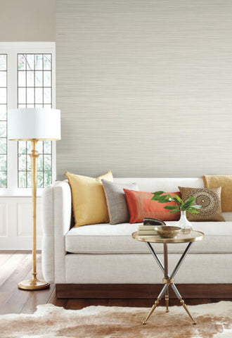 New Horizons Wallpaper in Bone and Tan from the Moderne Collection by Stacy Garcia for York Wallcoverings
