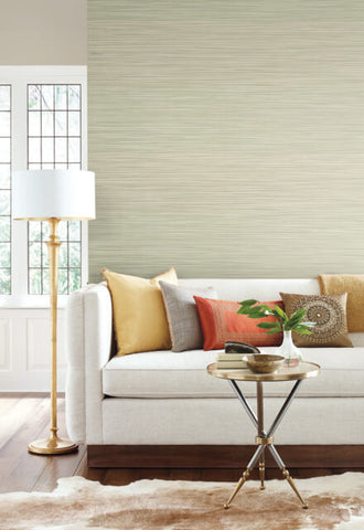 New Horizons Wallpaper in Sage from the Moderne Collection by Stacy Garcia for York Wallcoverings