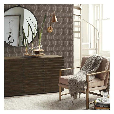 Nexus Wallpaper from the Urban Oasis Collection by York Wallcoverings