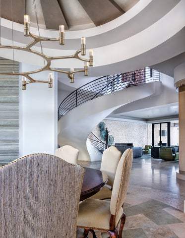 Nexus Chandelier by Corbett Lighting