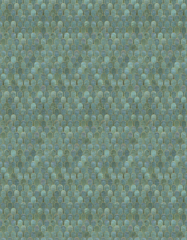 Sample Nizwa Wallpaper in Jade Metallic by Bethan Gray for NLXL Lab