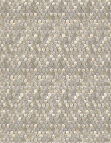 Nizwa Wallpaper in Natural Metallic by Bethan Gray for NLXL Lab