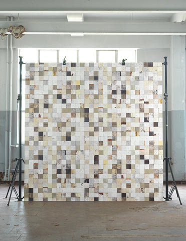 No. 16 Scrapwood Wallpaper design by Piet Hein Eek for NLXL Wallpaper