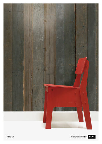 No. 4 Scrapwood Wallpaper design by Piet Hein Eek for NLXL Wallpaper