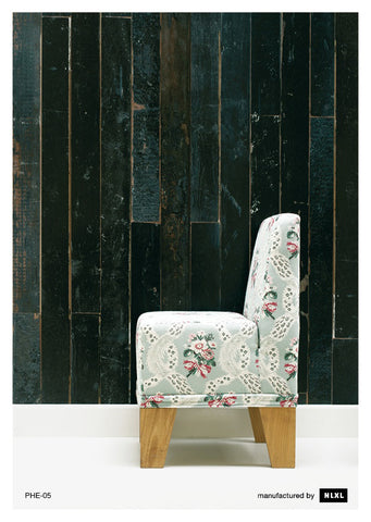 No. 5 Scrapwood Wallpaper design by Piet Hein Eek for NLXL Wallpaper