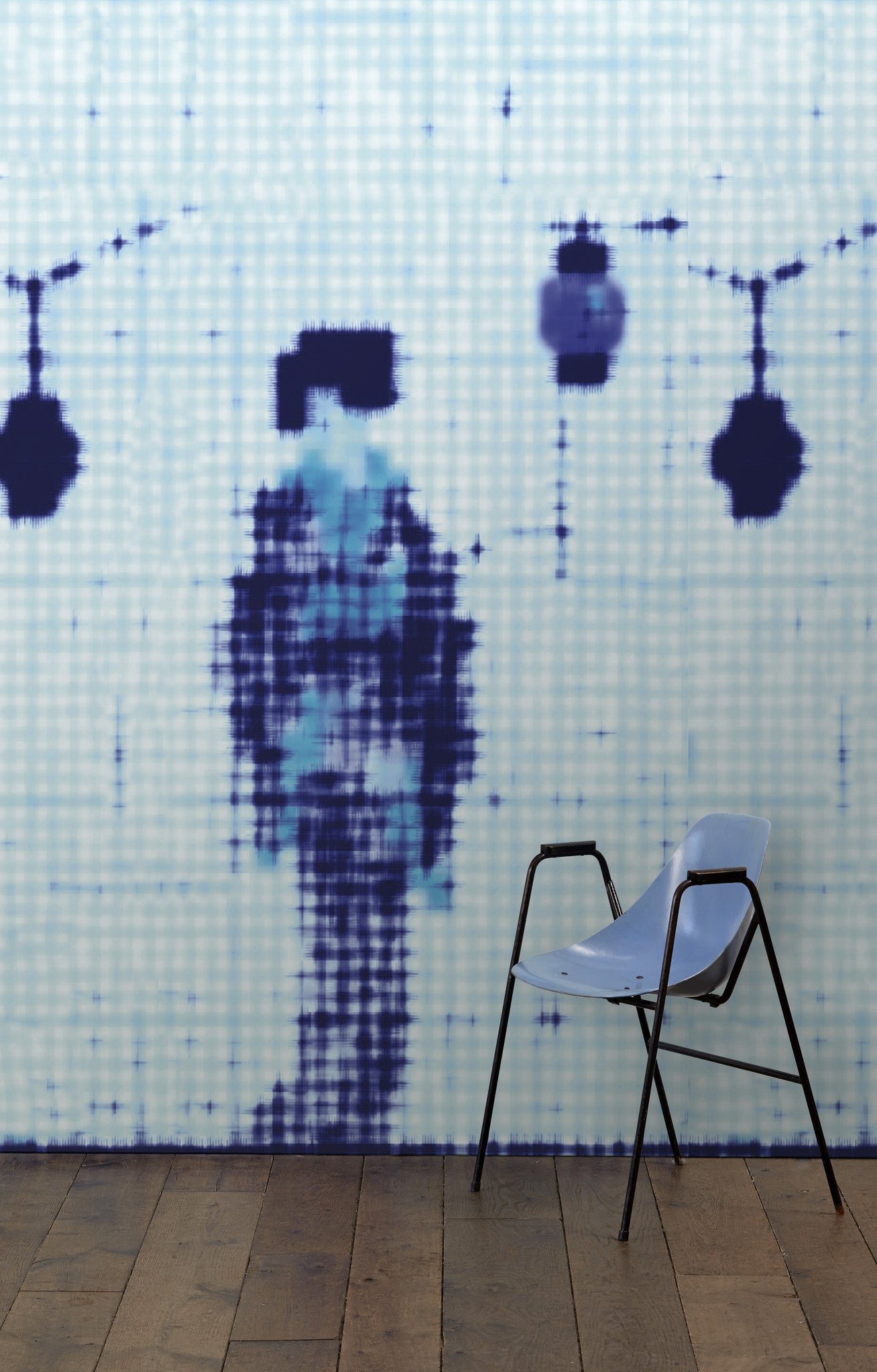 no 7 addiction wall mural design by paola navone for nlxl burke decor. Black Bedroom Furniture Sets. Home Design Ideas