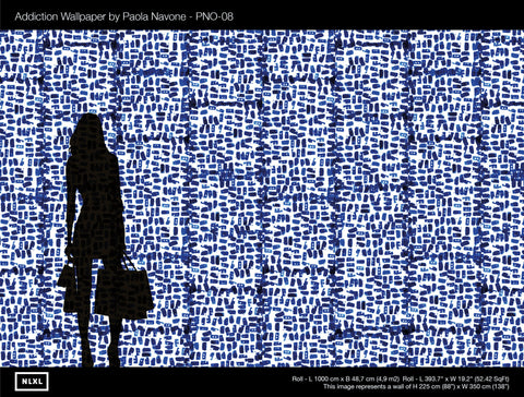 No. 8 Addiction Wallpaper by Paola Navone for NLXL