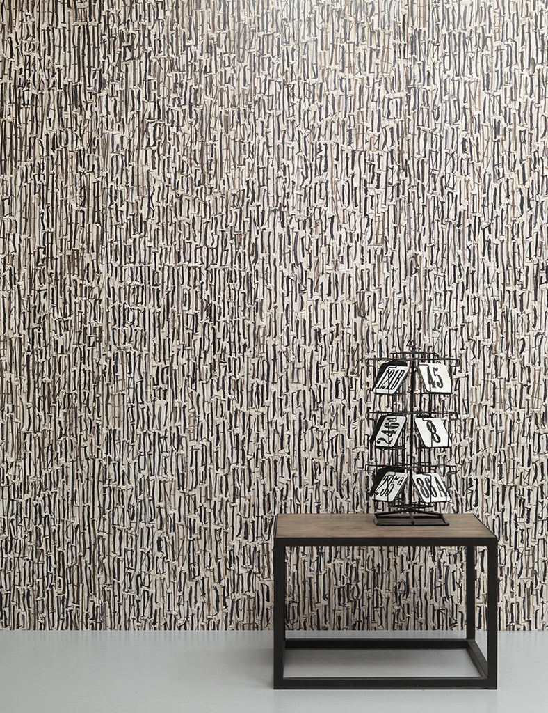 No. 8 Remixed Wallpaper design by Arthur Slenk for NLXL Wallpaper