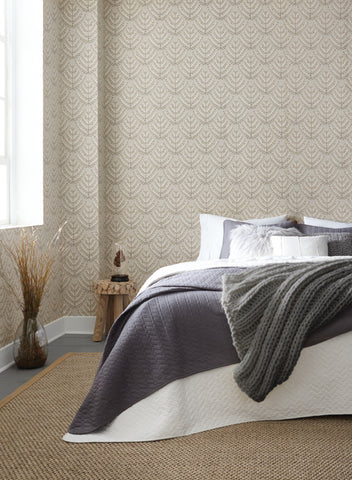 Norrland Wallpaper from the Norlander Collection by York Wallcoverings