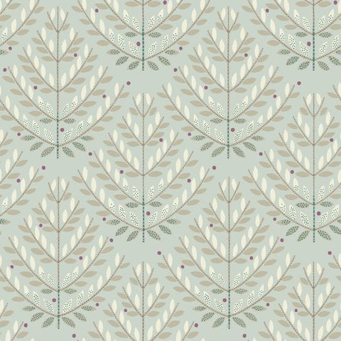 Norrland Wallpaper in Beige and Brown from the Norlander Collection by York Wallcoverings
