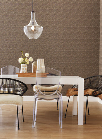 Norse Tribal Wallpaper from the Norlander Collection by York Wallcoverings