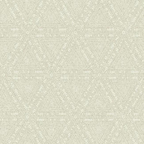 Norse Tribal Wallpaper in Beige and Ivory from the Norlander Collection by York Wallcoverings