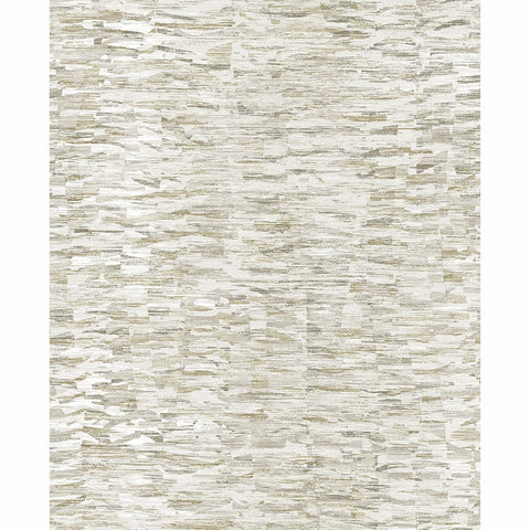 Nuance Abstract Texture Wallpaper in Taupe from the Celadon Collection by Brewster Home Fashions