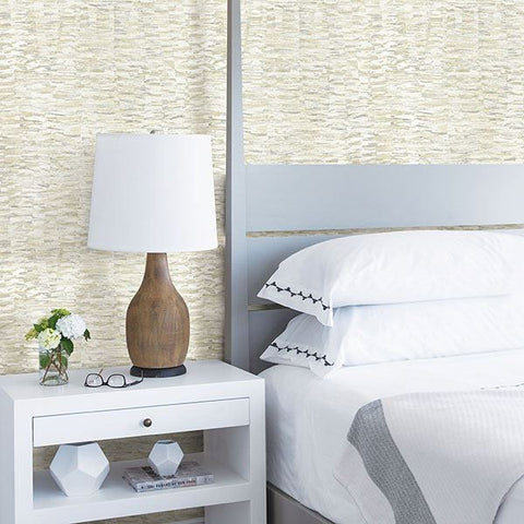 Nuance Abstract Texture Wallpaper in Yellow from the Celadon Collection by Brewster Home Fashions