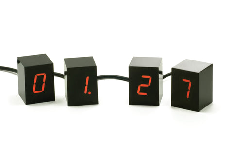 Numbers Clock design by Areaware