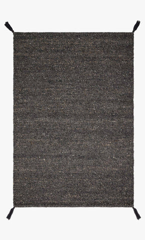 Oakdell Rug in Charcoal by ED Ellen DeGeneres Crafted by Loloi