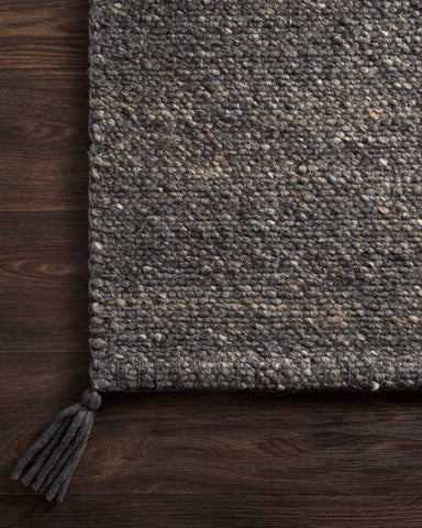 Oakdell Rug in Charcoal design by Ellen DeGeneres for Loloi