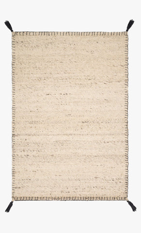 Oakdell Rug in Natural design by Ellen DeGeneres for Loloi
