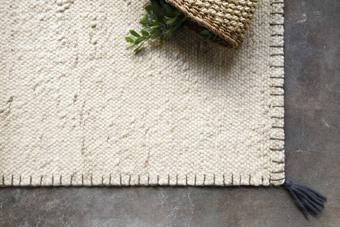 Oakdell Rug in White by ED Ellen DeGeneres Crafted by Loloi