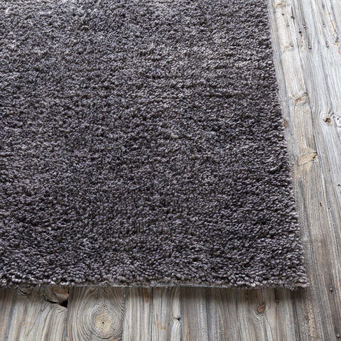 Ombra Collection Hand-Woven Area Rug in Charcoal & Grey design by Chandra rugs