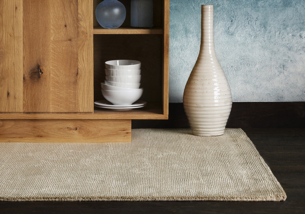 Orim Collection Hand-Woven Area Rug in Tan design by Chandra rugs