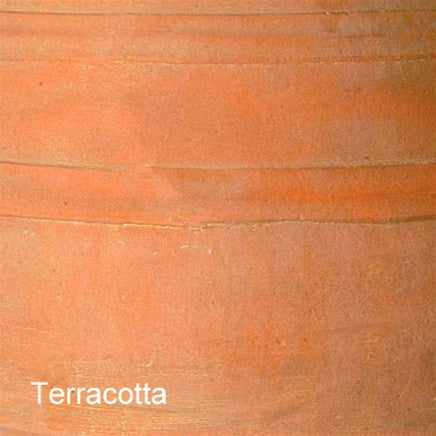 Oakleaf Trough in Terracotta design by Capital Garden Products