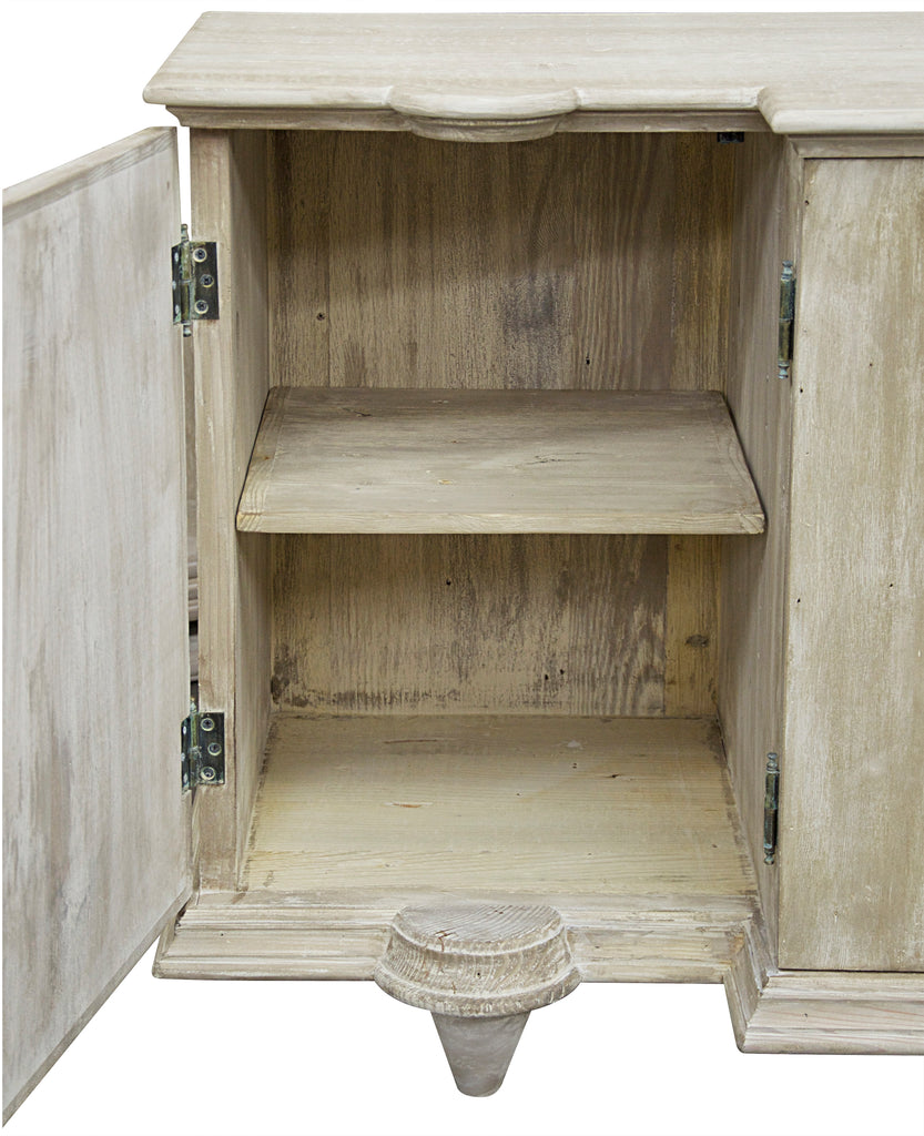 Reclaimed Lumber Salvia Cabinet