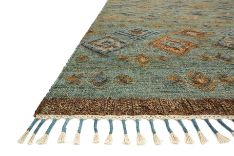 Owen Rug in Sea & Blue by Loloi