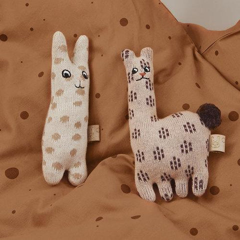 Baby Rattle Lama design by OYOY
