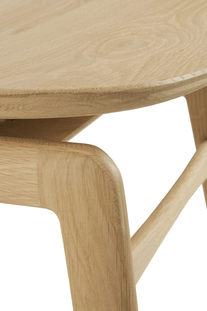 Oak Pebble Dining Chair
