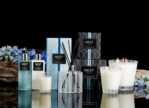 Ocean Mist & Sea Salt Reed Diffuser design by Nest Fragrances