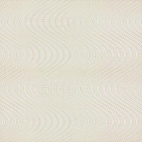 Ocean Swell Wallpaper in Cream and White from the Urban Oasis Collection by York Wallcoverings
