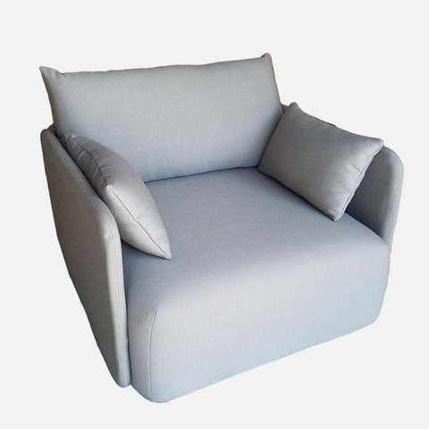 Offset Sofa Chair in Grey design by Menu