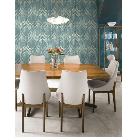 Old Danube Wallpaper from the Lugano Collection by Seabrook Wallcoverings