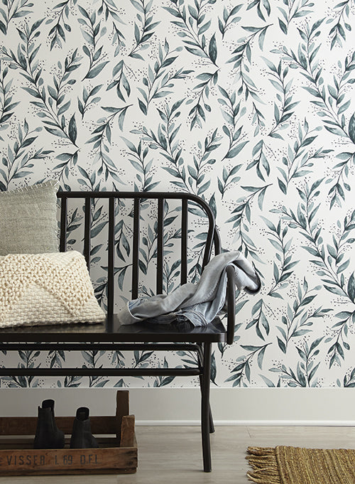 Olive Branch Wallpaper from Magnolia Home Vol. 2 by Joanna Gaines