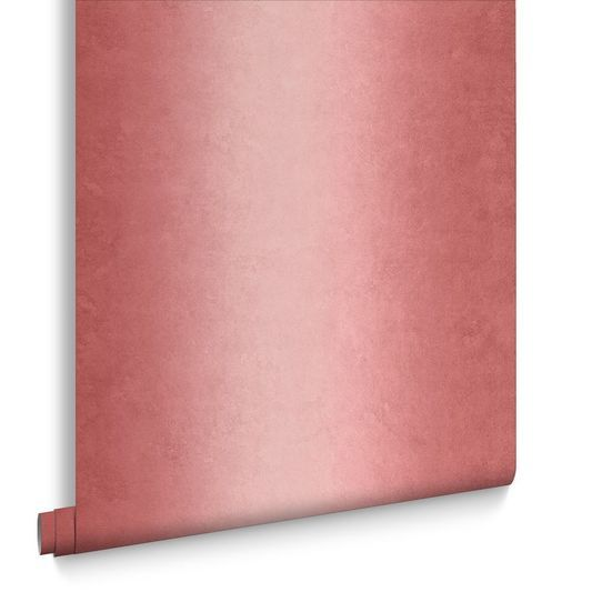 Sample Ombre Stripe Wallpaper in Blossom from the Exclusives Collection by Graham & Brown
