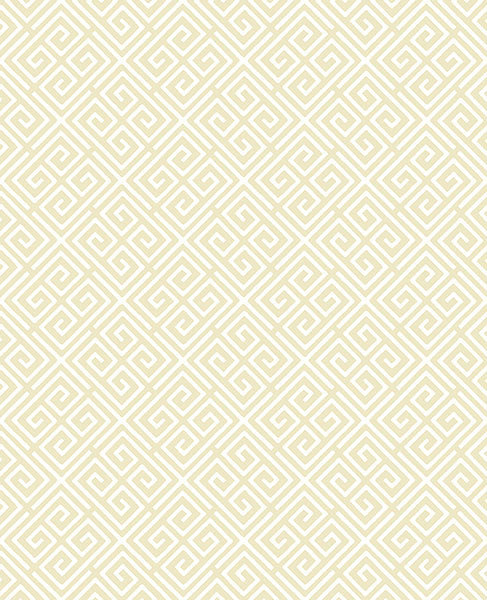 Sample Omega Gold Geometric Wallpaper from the Symetrie Collection by Brewster Home Fashions