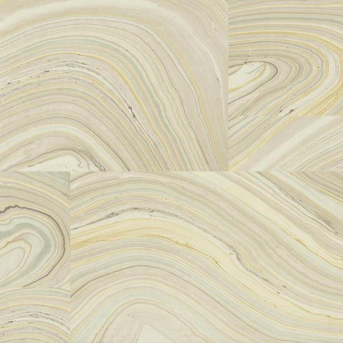 Sample Onyx Wallpaper in Grey and Yellow design by Candice Olson for York Wallcoverings