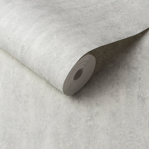Orbit Wallpaper in White Grey from the Exclusives Collection by Graham & Brown