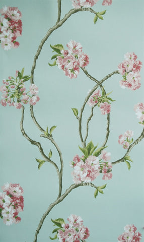 Orchard Blossom Wallpaper 02 by Nina Campbell for Osborne & Little