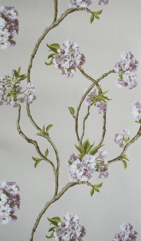 Orchard Blossom Wallpaper 03 by Nina Campbell for Osborne & Little